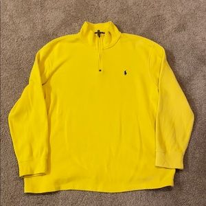 Polo by Ralph Lauren ribbed 1/4 zip sweater XXL